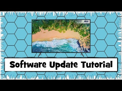 Samsung Smart Television Software Update Tutorial