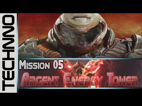 DOOM - Mission 5: Argent Energy Tower / Argent Tower (Ultra-violence difficulty)