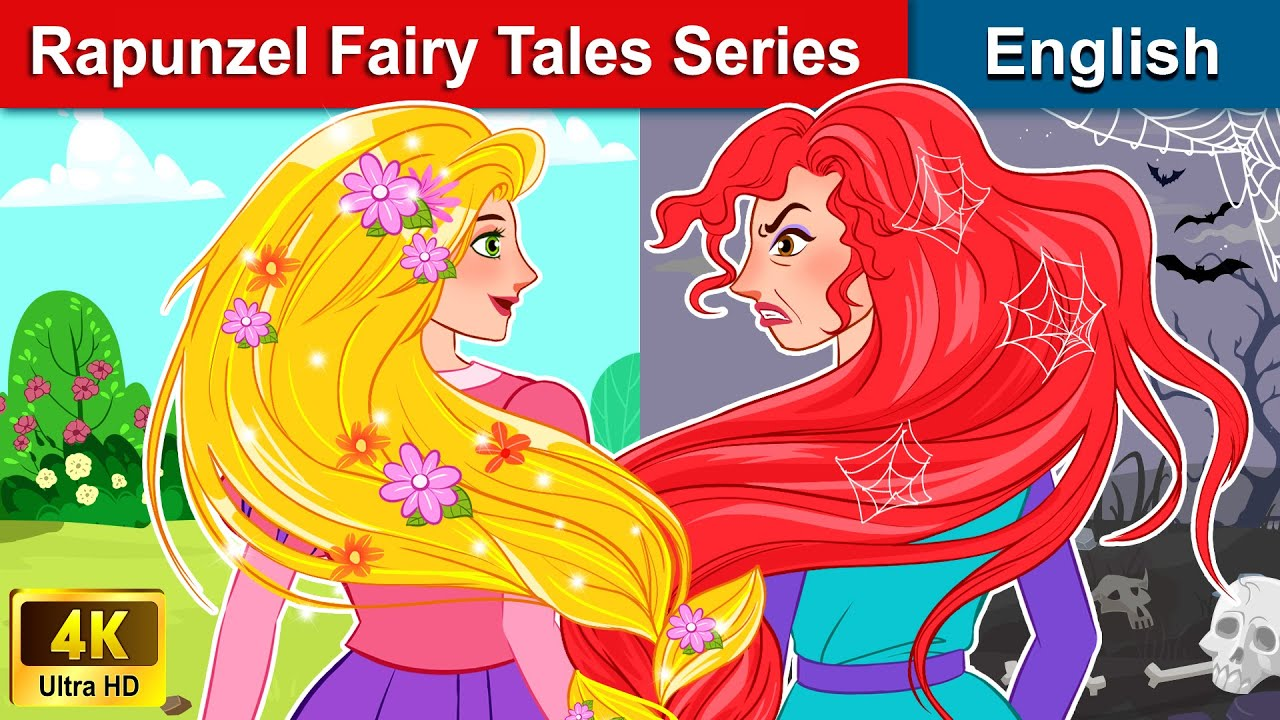 Rapunzel Fairy Tales Series 👸(All Stories) 🌛 Bedtime stories For Teenagers | WOA Fairy Tales