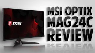 MSI Optix MAG24C - The Best $200 Gaming Monitor of 2020