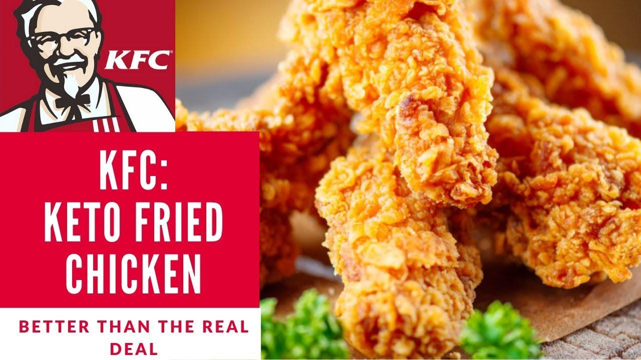 Kfc Keto Fried Chicken Rated 1 Worldwide Best Low Carb Recipe So Crispy Youtube