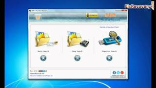 Restore data from HP pen drive using DDR Pen Drive Recovery Software