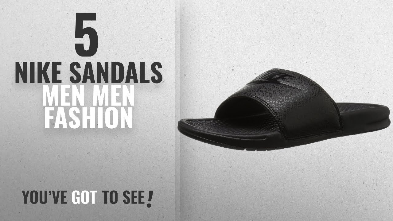 3588c95db1aa6d Top 10 Nike Sandals Men  Men Fashion Winter 2018    NIKE Men s ...