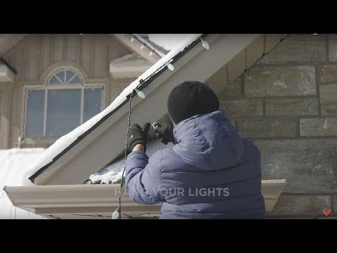 How to Install Christmas Lights on your House (6 steps)