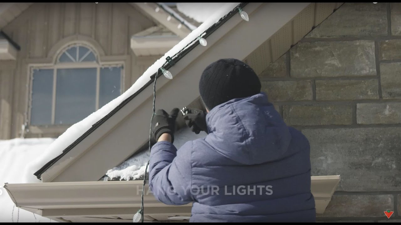 how to install christmas lights on your house 6 steps - Install Christmas Lights