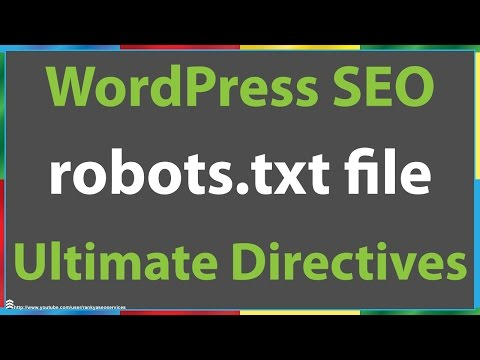 WordPress SEO Ultimate Robots.txt file