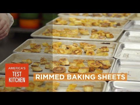 "Equipment Review: Best Rimmed Baking Sheets (Sheet Pans, ""Jelly Roll Pans"") & Our Testing Winner"