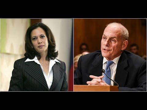 EPIC: DHS Director John kelly destroys Leftist Race baiting California senator Camila Harris!!!