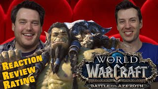 World of Warcraft - Cinematic Safe Haven - Reaction/Review/Rating