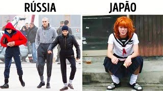 Como Se Parecem Algumas Gangues ao Redor do Mundo