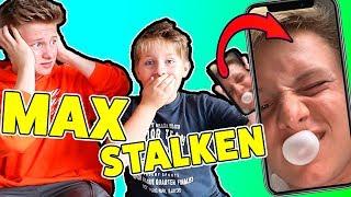1 Tag Max HANDY STALKEN 😲 😲 KRASS TipTapTube - ASH & MAX SHOW
