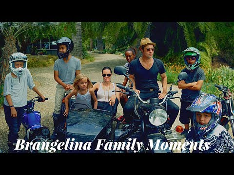 Brad Pitt And Angelina Jolie's Family | Beautiful Moments