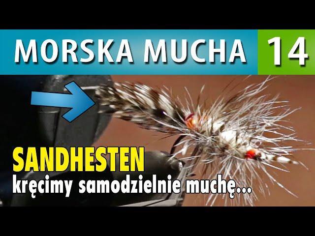 MORSKA MUCHA ➤ SANDHESTEN kręcimy muchę - zrób to sam #7