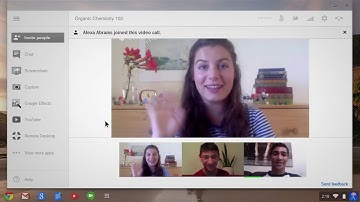Chromebook: Video Chat with Google+ Hangouts