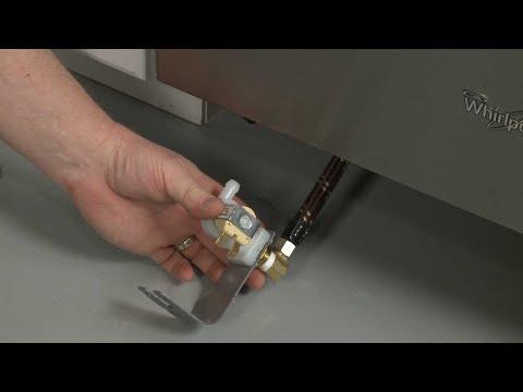 Water Inlet Valve - Whirlpool Dishwasher Repair #WDF550SAFS