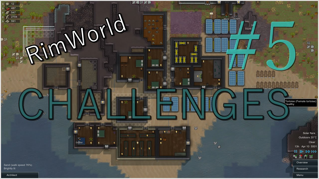 RimWorld Extreme Challenges #5 - The Biggest Map Possible