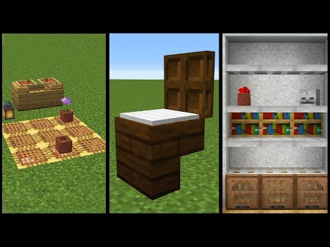 Minecraft: 50 Furniture and Decoration Designs!