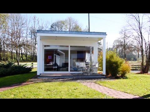 moderne gartensauna colorispa hummel blockhaus youtube. Black Bedroom Furniture Sets. Home Design Ideas