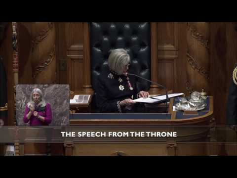 Speech from the Throne 2017