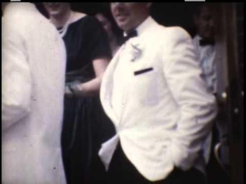 John & Arlene Harris wedding snippets September 24, 1960