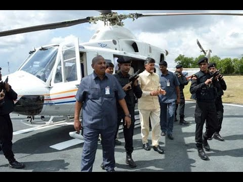 New helicopter, jet for Andhra Pradesh Chief Minister Chandrababu