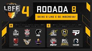 LBFF 4 - Rodada 8 - Grupos A e C | Free Fire