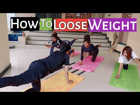 Weight Loss By Plank Variation Workout | Weight Loss Urdu/Hindi | Yoga Lahore| Yogi Azeem |Axeemyoga