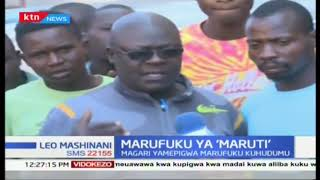 OCPD wa Kakamega apiga Maruti marufuku