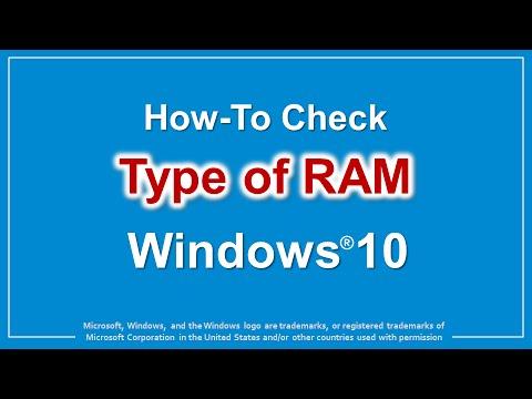 windows 10 check memory modules