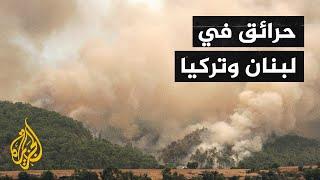 حرائق في شمال لبنان وأخرى في تركيا تودي بحياة 3 مواطنين