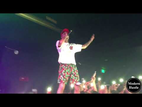 Lil Skies - Big Money (LIVE) // Throws Weed Off Stage