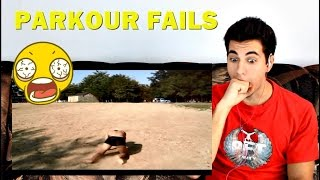 PARKOUR FAILS CU MINE ! Reacția mea ! #coishot