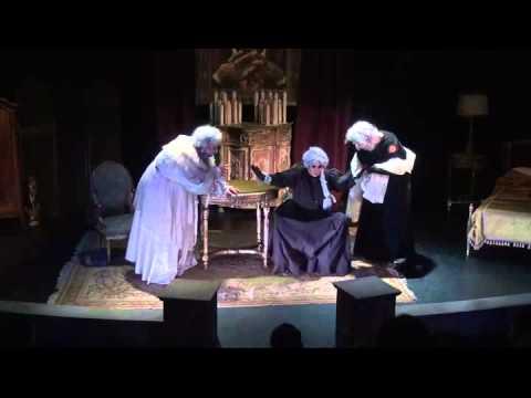 Moria Casán y las imágenes de su personaje como una anciana
