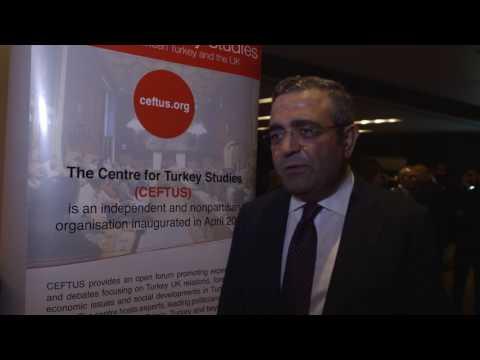 Mustafa Sezgin Tanrikulu, Republican People's Party CHP MP - CEFTUS 5th Anniversary Gala