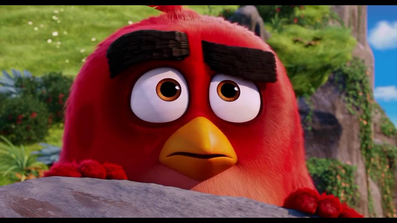 Download The Angry Birds Movie (2016) Mighty Eagle Scene