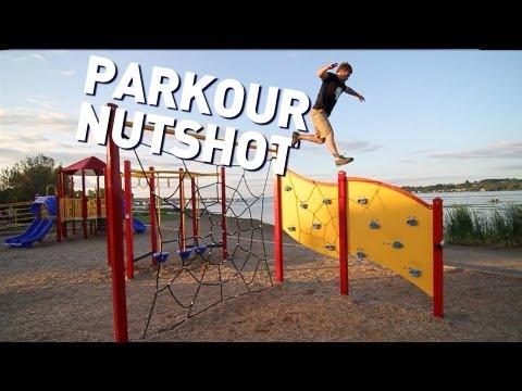The KiddChris Show - Rock Wall Parkour Nutshot