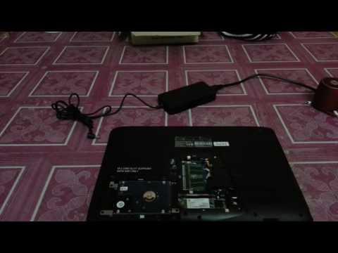 ASUS gl552vw-dm010d upgrade ใส่ SSD M.2 intel ssd 535 m.2 240gb