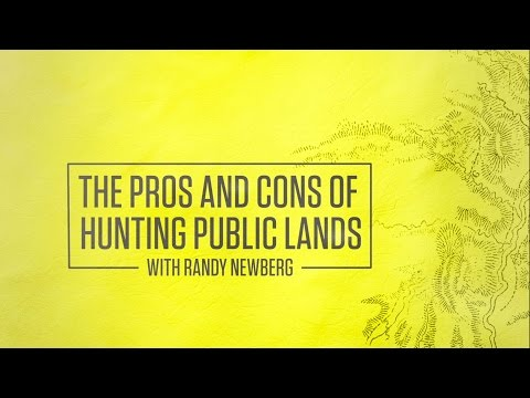 The Pros And Cons Of Hunting Public Lands With Randy Newberg
