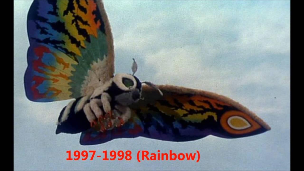The Evolution of Mothra (1961-2016) - YouTube