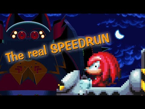 REAL speedrun as Knuckles Titanic Monarch act 1 : Sprite animation