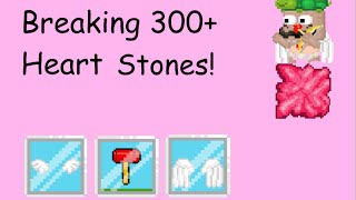 Growtopia Breaking Over 300 Heart Stones!