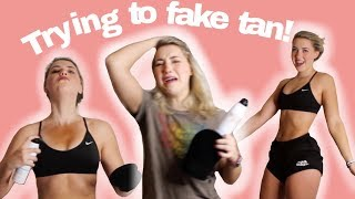 Trying Fake Tan for the First Time