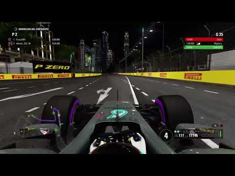 F1 2017 Hot Lap Singapore - Time Trial 1.36.7 [No assist]