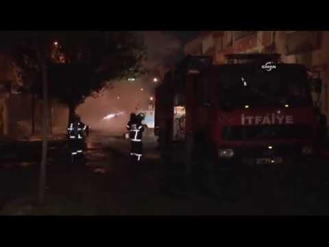 Gaziantep'te iki BDP binası ateşe verildi