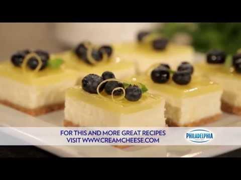 Double Lemon Cheesecake Bars Recipe | PHILADELPHIA Cream Cheese