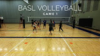 BASL Volleyball | Full Game (1) - 2018-03-01
