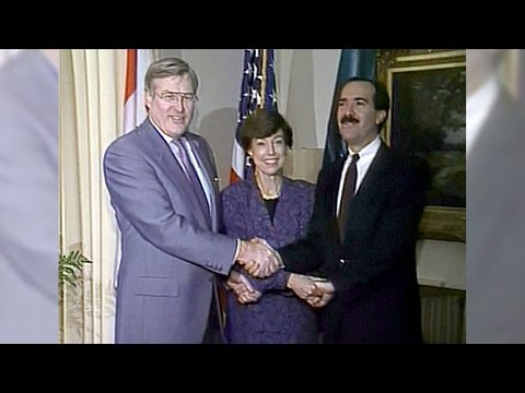 Aug. 12, 1992: NAFTA draft completed after 14 months of talks