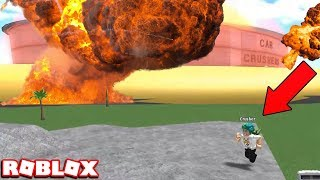MAKING THE FACILITY EXPLODE! BEST WAY TO CRUSH YOUR CAR in ROBLOX CAR CRUSHERS 2 (FREE!!!)
