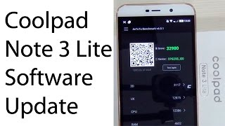 Coolpad Note 3 Lite Software Update Improves Performance