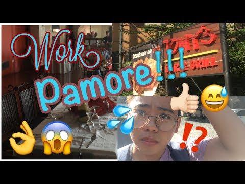 VLOG#1 WAITER`S LIFE ( WORK PAMORE!! ):)